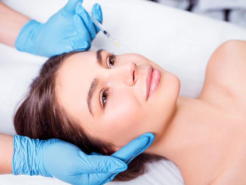 Injection de botox à la Clinic Lémanic
