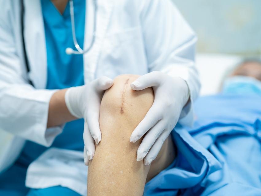 Cicatrice traitement - genou